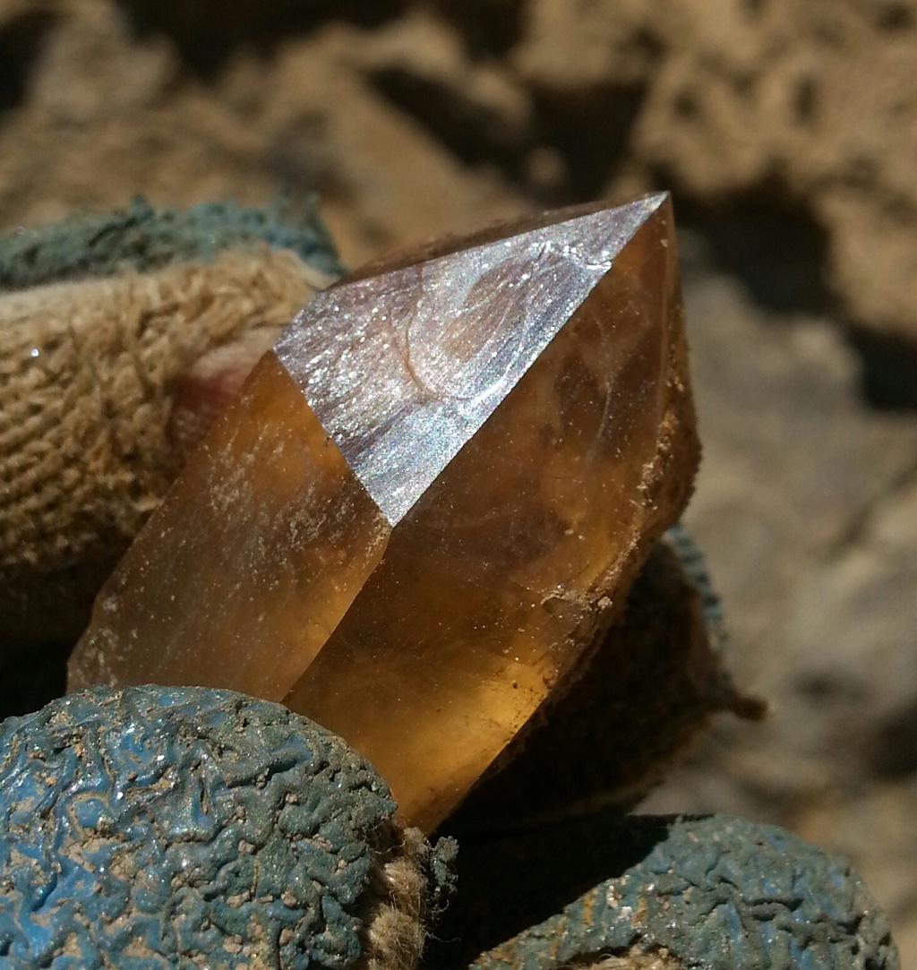 Visiting Hallelujah Junction for Scepter crystal digging